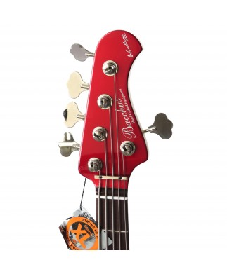BACCHUS JAZZ BASS WL-535 ROJO CARMIN GLOBAL SERIES