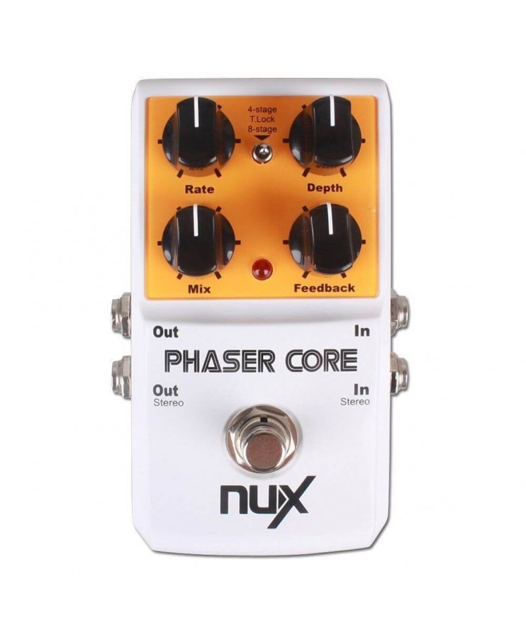 NUX PHASER CORE Pedal phaser modulador
