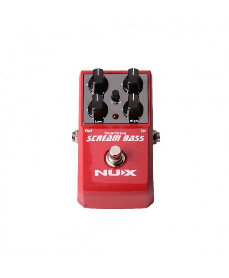 SCREAM BASS NUX OVERDRIVE PARA BAJO