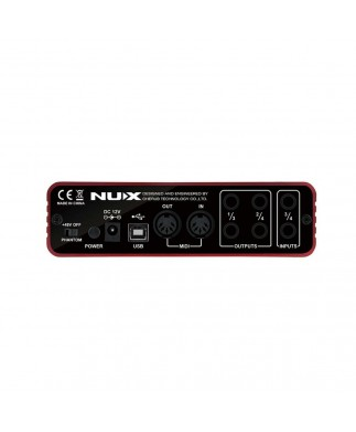 NUX UC-2 Interfaz de Audio USB