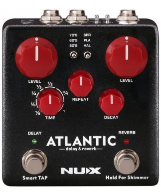 NUX ATLANTIC (DELAY & REVERB)