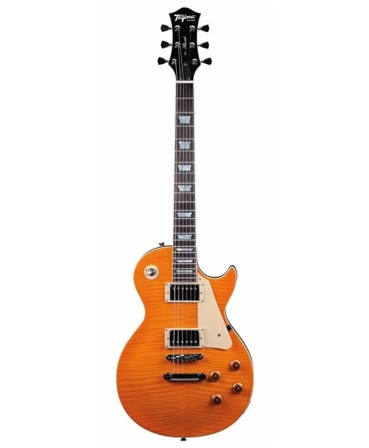 LES PAUL TAGIMA TLP FLAMED AMBER